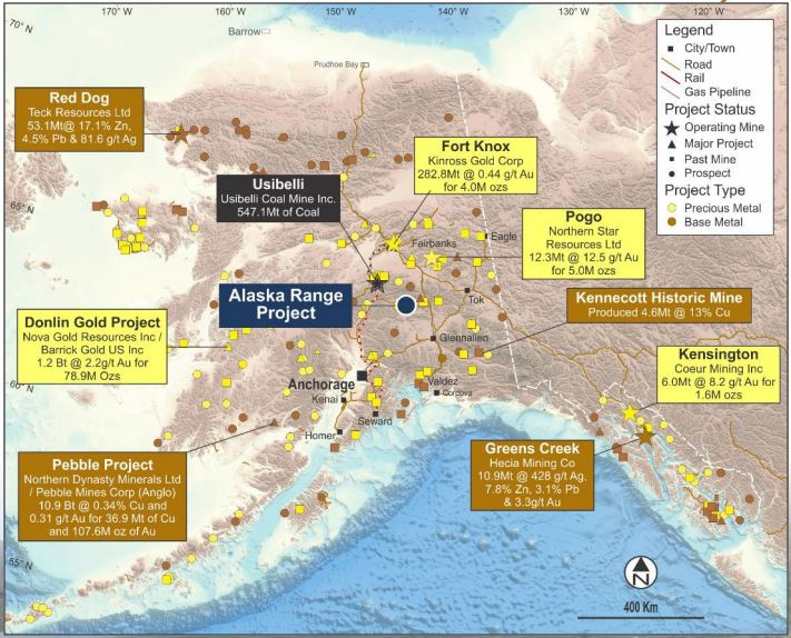 Polarx Ltd Outlines Rapid Expansion At Alaska Range Project