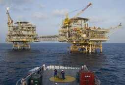 Premier Oil offshore platform