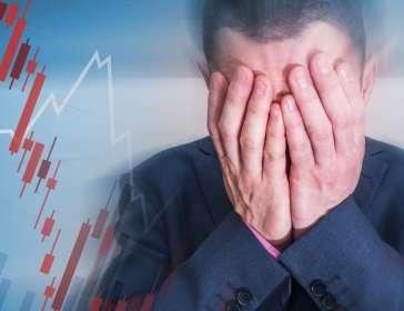 trader in despair