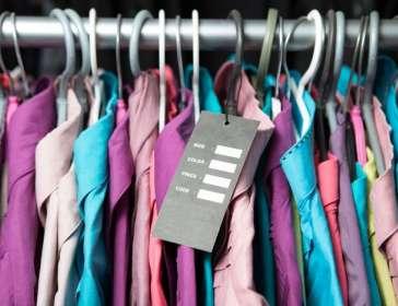 Rack of shirts