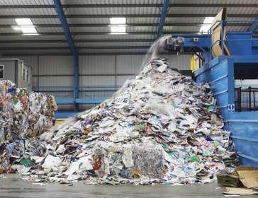 rubbish tip