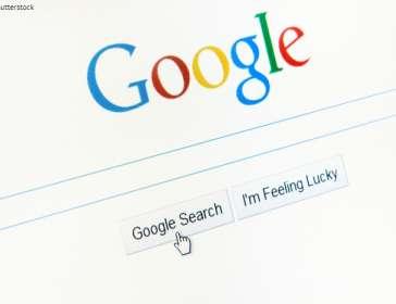 google web page