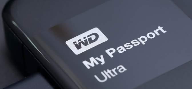 Western Digital memory product