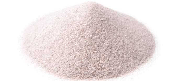 silica sand samples