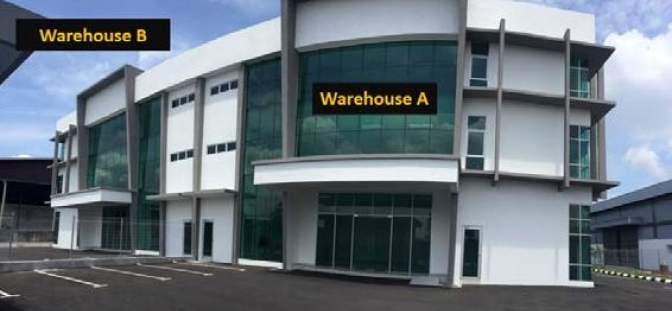 Warehouse facility in Malaysia