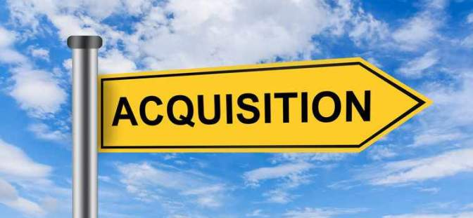 Acquisition sign