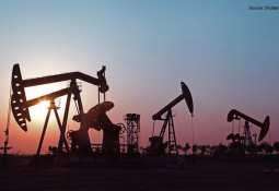 oil wells