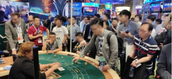 Gaming expo in Macau