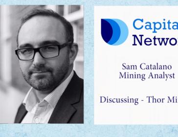 Capital Network's Sam Catalano on Thor Mining