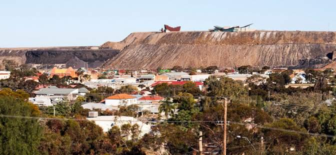 View over Broken Hill