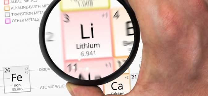 Lithum periodic table
