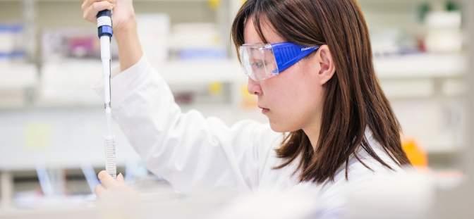 Laboratory - Moderna Astrazeneca coronavirus vaccine