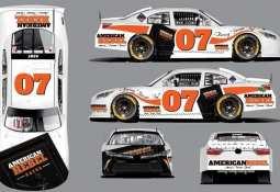 American Rebel Holdings, Inc. - American Rebel sponsors NASCAR veteran David Starr Car No. 07 at the Kansas Speedway