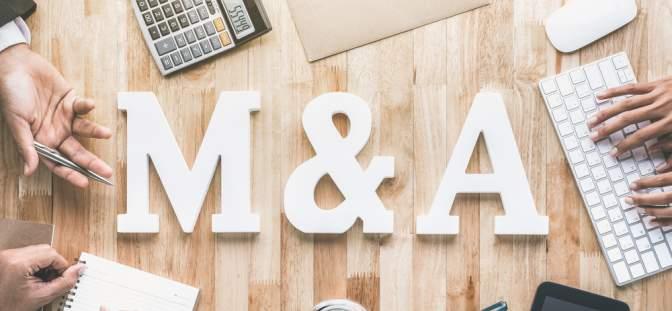 M&A sign